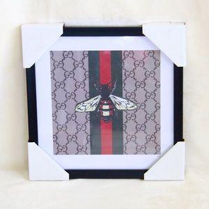 Gucci x Fairchild Paris Bee Framed Reprint